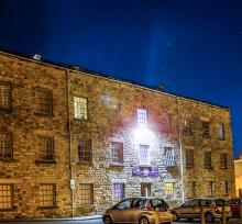 Ladywell Halls At Night