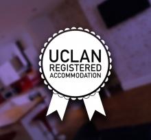 UCLan Accredited Accommodation Badge